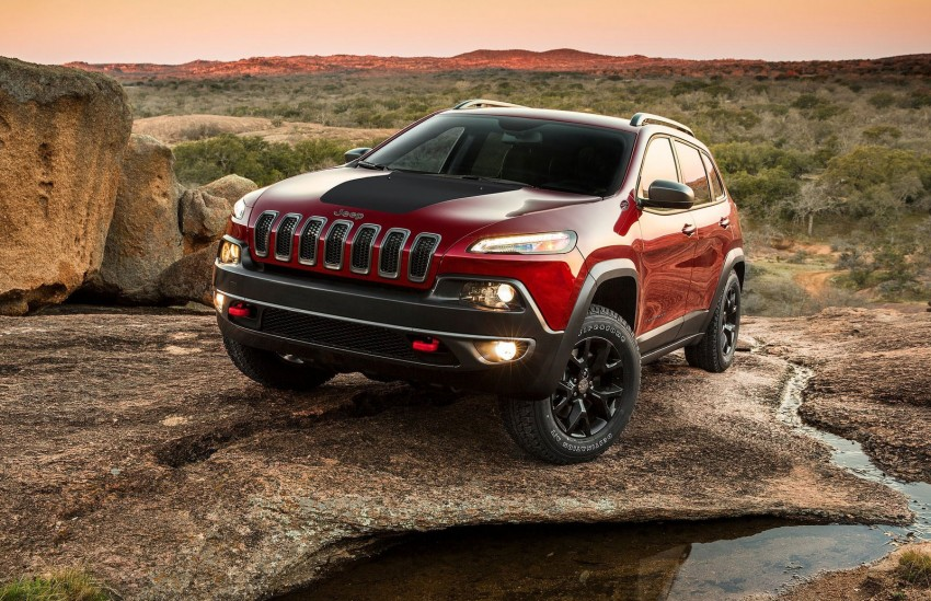 2014 Jeep Cherokee – 9-speed auto, face from Mars Image #165474
