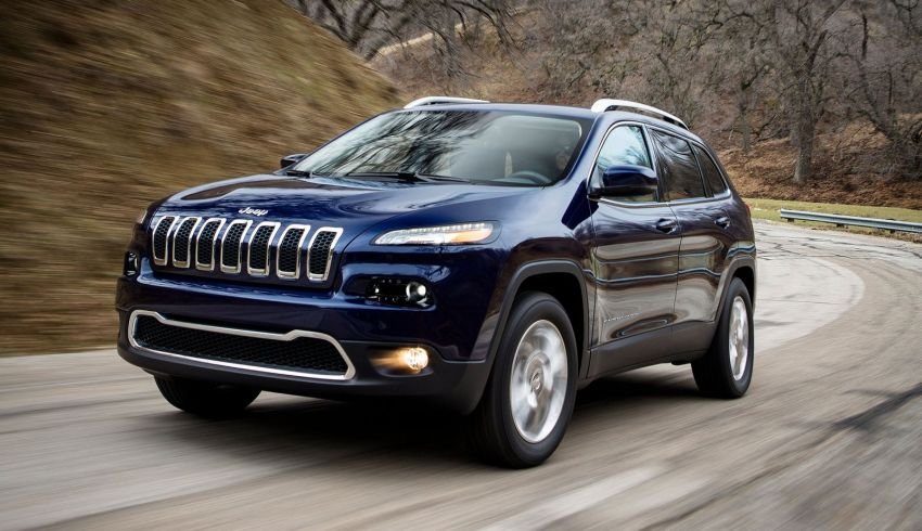 2014 Jeep Cherokee – 9-speed auto, face from Mars Image #165480