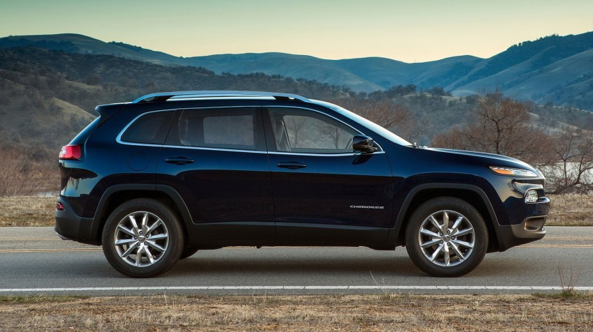 2014 Jeep Cherokee – 9-speed auto, face from Mars Image #165481