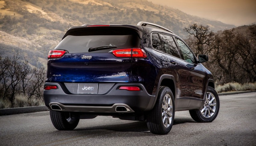 2014 Jeep Cherokee – 9-speed auto, face from Mars Image #165483