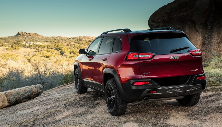 2014 Jeep Cherokee – 9-speed auto, face from Mars Image #165484