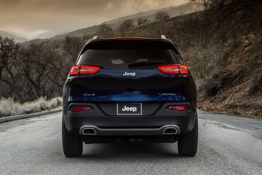 2014 Jeep Cherokee – 9-speed auto, face from Mars Image #165485