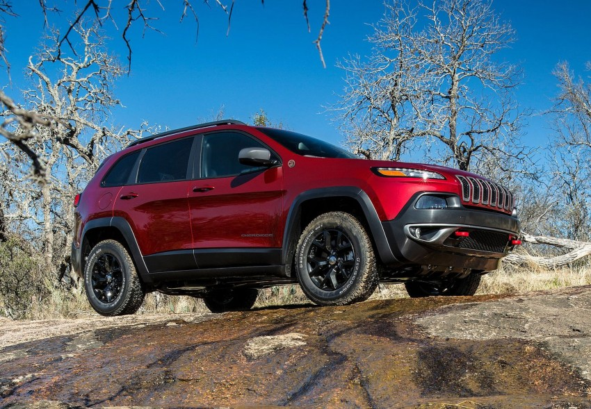 2014 Jeep Cherokee – 9-speed auto, face from Mars Image #165494