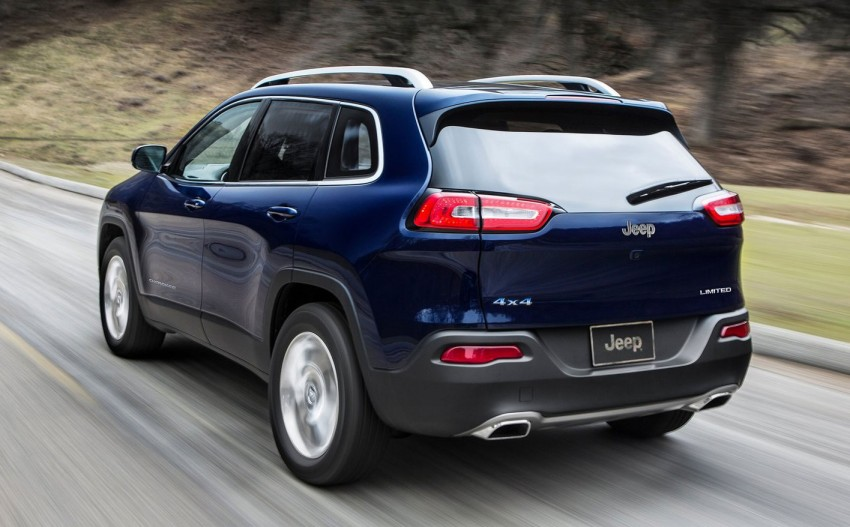 2014 Jeep Cherokee – 9-speed auto, face from Mars Image #165499