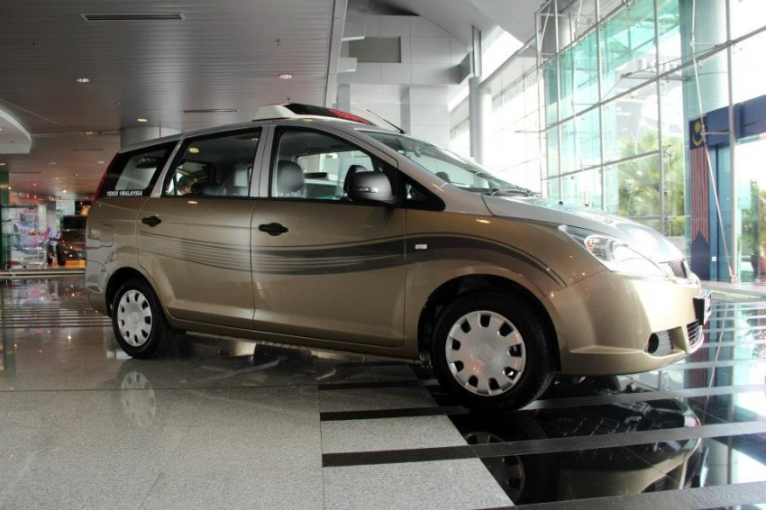 Teksi 1Malaysia Proton Exora NGV – design unveiled Image #169335