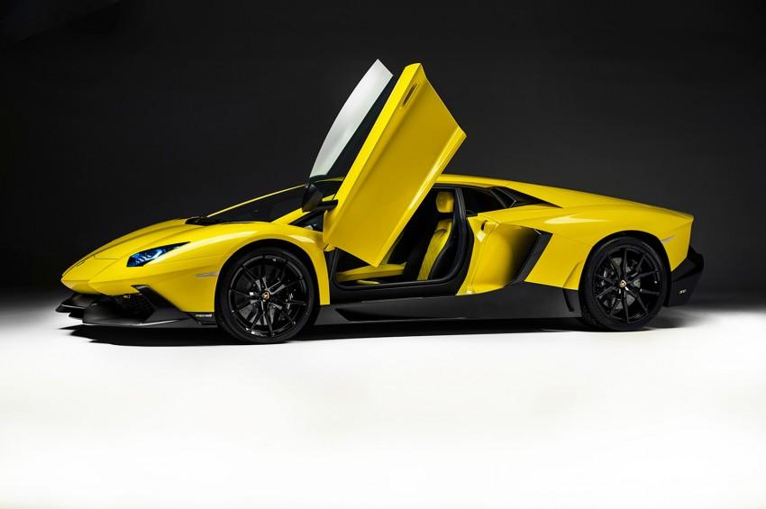 Lamborghini Aventador 50 Anniversario Edition leaked Image #169196