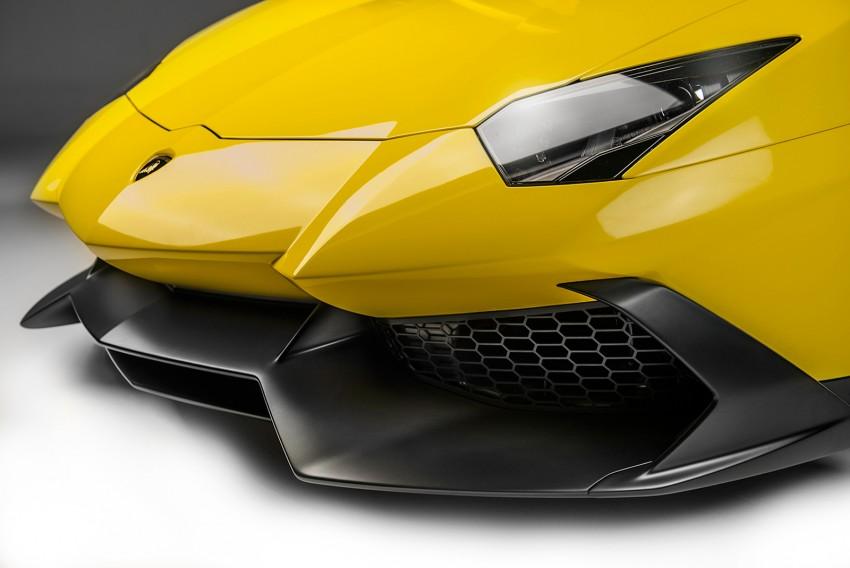 Lamborghini Aventador 50 Anniversario Edition leaked Image #169200