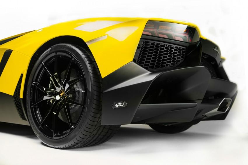 Lamborghini Aventador 50 Anniversario Edition leaked Image #169201