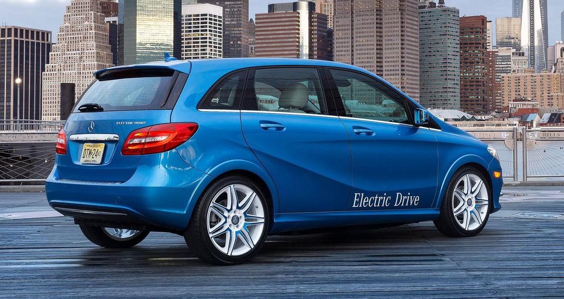 Mercedes benz b class electric drive 200 km range image for Mercedes benz b class range