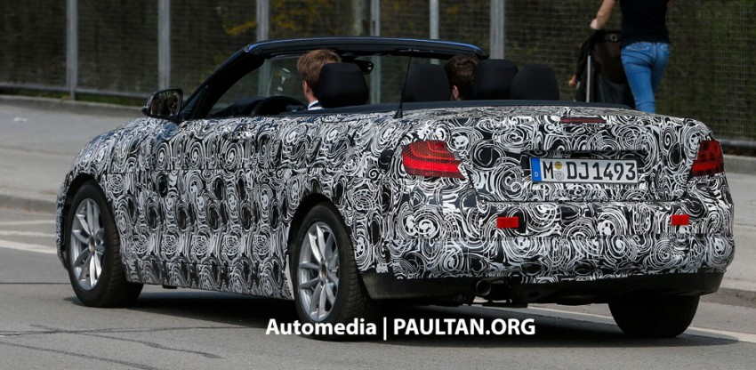 BMW 2-Series Convertible spied with the top down Image #171594