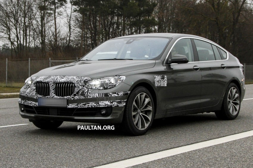 SPYSHOTS: BMW 5 Series GT to get mid-life facelift Image #168222