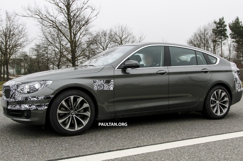 SPYSHOTS: BMW 5 Series GT to get mid-life facelift Image #168223