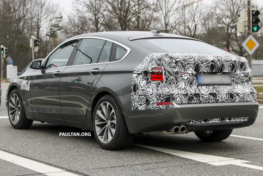 SPYSHOTS: BMW 5 Series GT to get mid-life facelift Image #168224