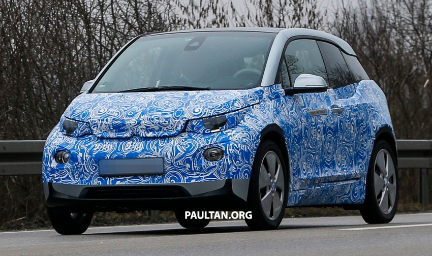 SPYSHOTS: All-electric BMW i3 hatch caught testing – suicide doors to reach production, no Hofmeister kink Image #167874