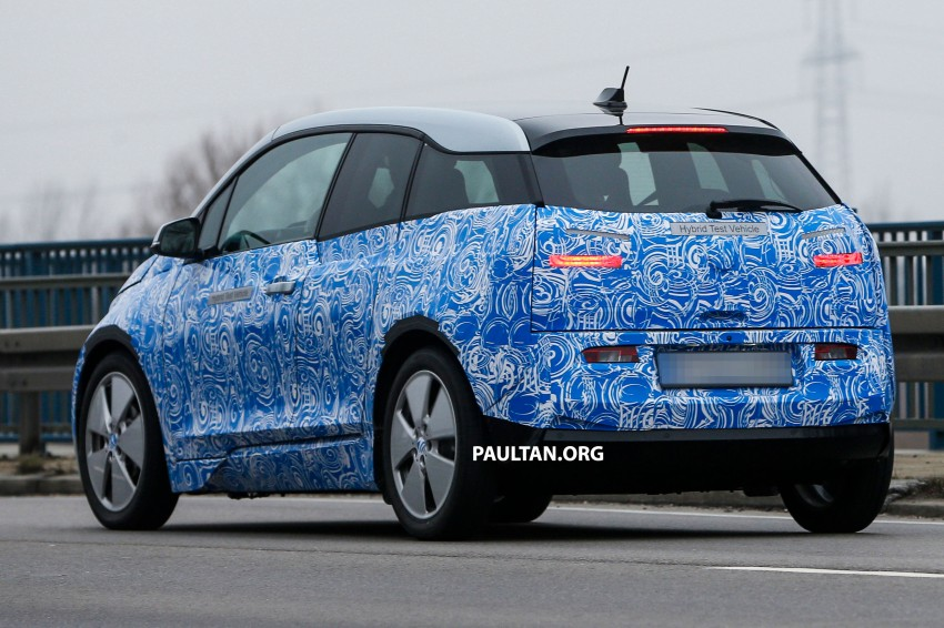 Spyshots All Electric Bmw I3 Hatch Caught Testing