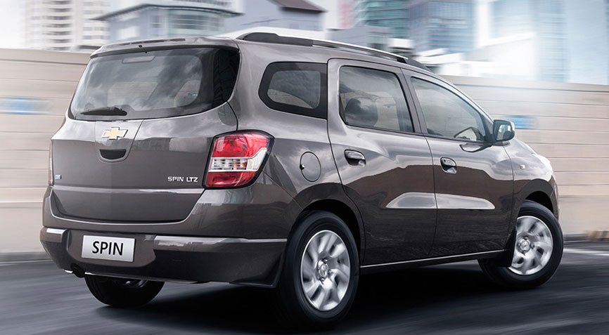 Chevrolet Spin launched in Thailand – 7-seater MPV Image 166484