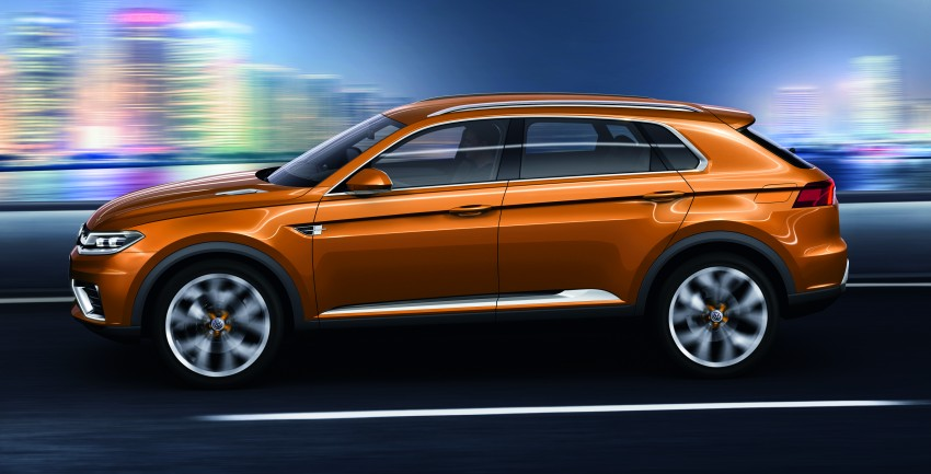 Shanghai 2013 Live: Volkswagen CrossBlue Coupe Image #170135