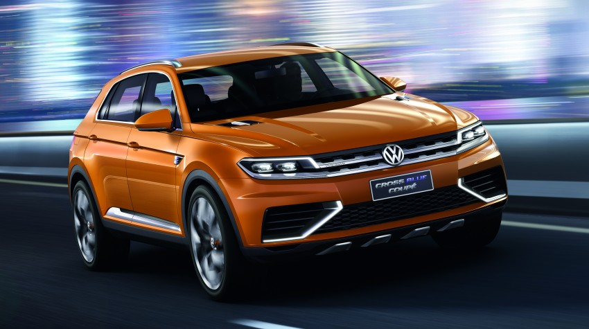 Shanghai 2013 Live: Volkswagen CrossBlue Coupe Image #170134