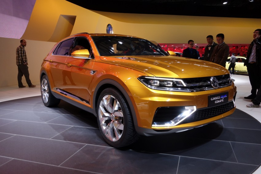 Shanghai 2013 Live: Volkswagen CrossBlue Coupe Image #174901