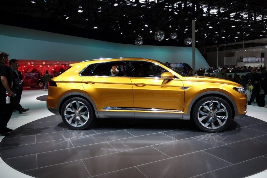 Shanghai 2013 Live: Volkswagen CrossBlue Coupe Image #174900