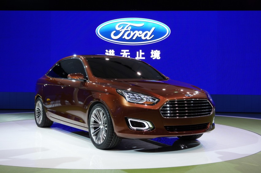 Ford Escort Concept – new compact sedan for China Image #175036