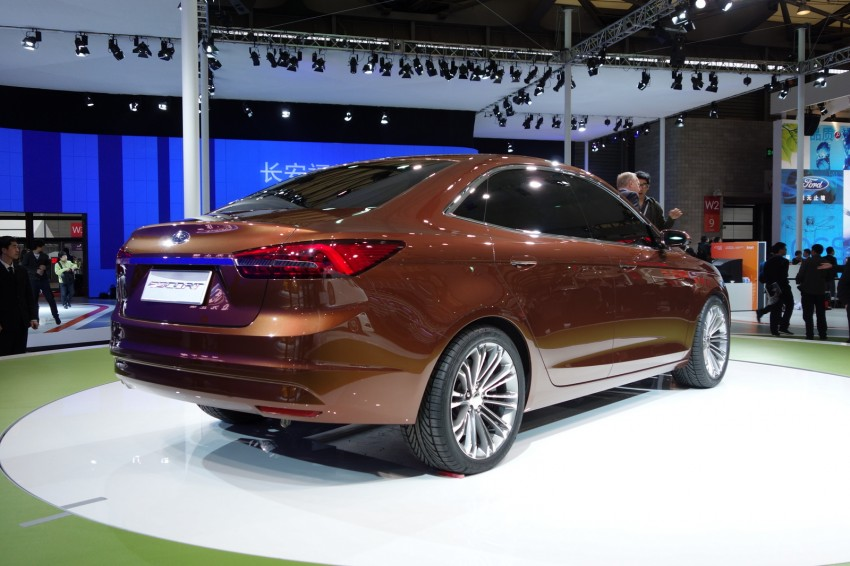 Ford Escort Concept – new compact sedan for China Image #175035