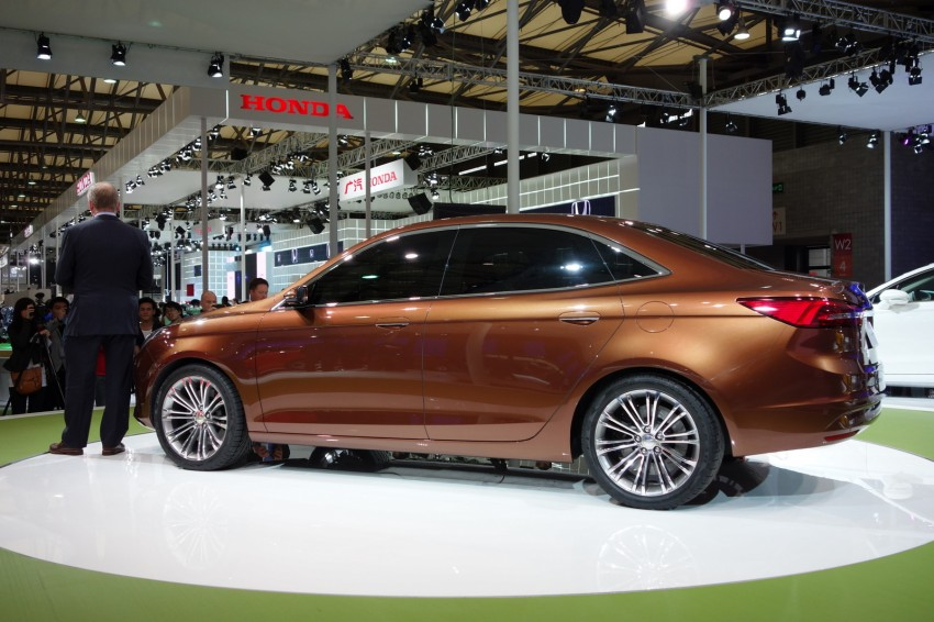 Ford Escort Concept – new compact sedan for China Image #175034