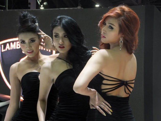 Bangkok show girls