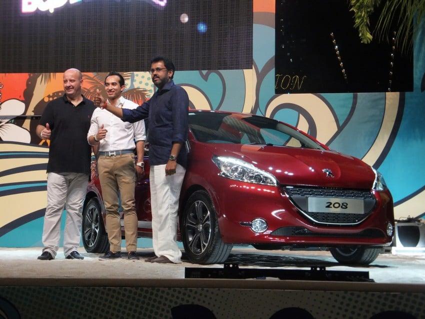Peugeot 208 launched – 5dr RM85,888, 3dr RM95,888 Image #169097
