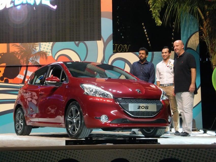 Peugeot 208 launched – 5dr RM85,888, 3dr RM95,888 Image #169098