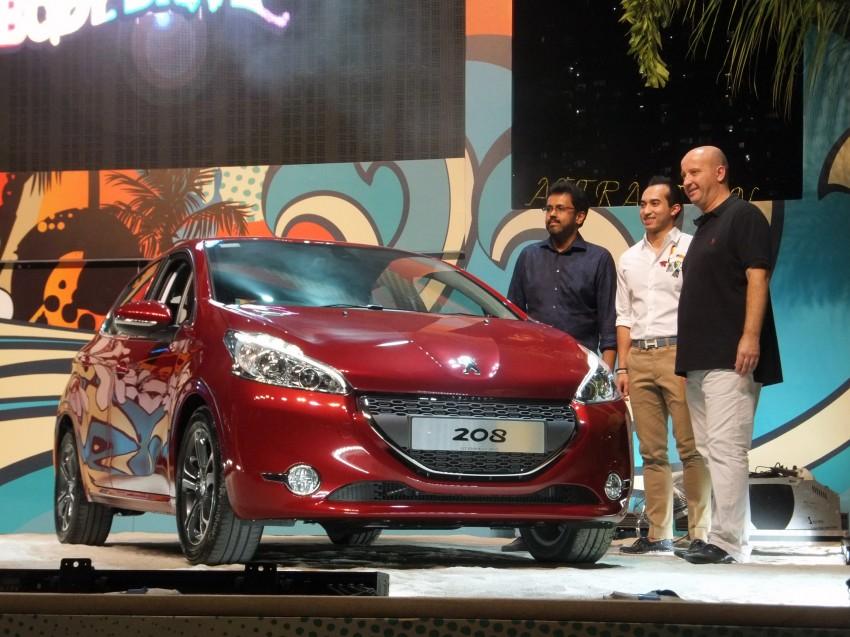 Peugeot 208 launched – 5dr RM85,888, 3dr RM95,888 Image #169099