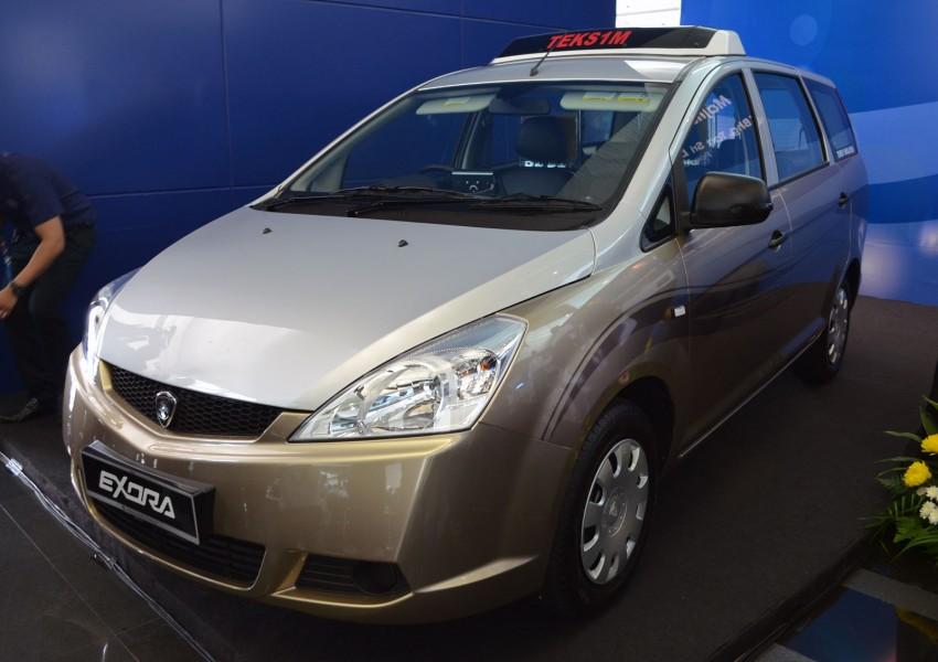 Teksi 1Malaysia Proton Exora NGV – design unveiled Image #169260