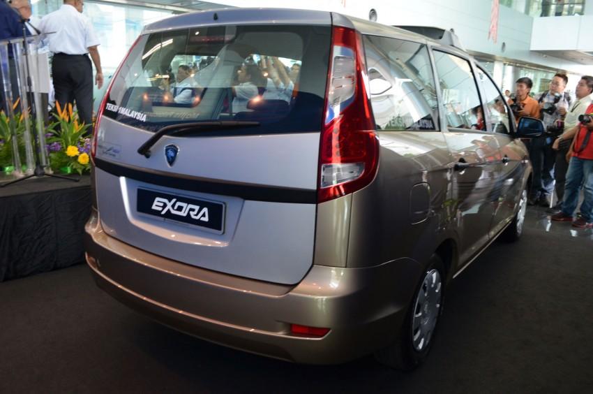 Teksi 1Malaysia Proton Exora NGV – design unveiled Image #169262