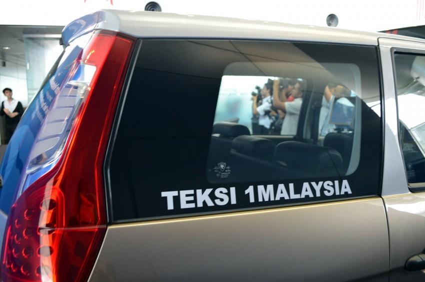 Teksi 1Malaysia Proton Exora NGV – design unveiled Image #169263