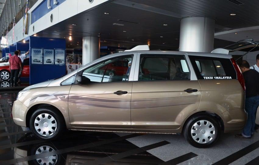 Teksi 1Malaysia Proton Exora NGV – design unveiled Image #169272