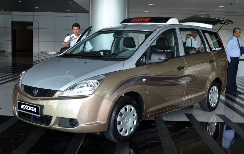 Teksi 1Malaysia Proton Exora NGV – design unveiled Image #169273