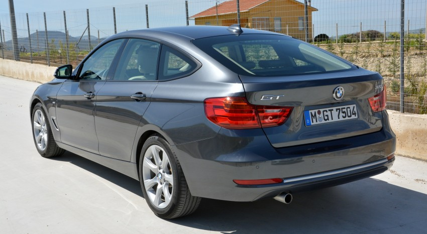 DRIVEN: BMW 3 Series Gran Turismo in Sicily Image #166579