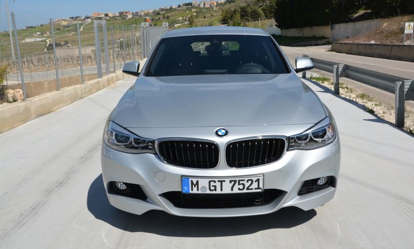 DRIVEN: BMW 3 Series Gran Turismo in Sicily Image #166587