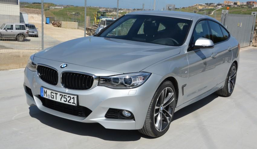 DRIVEN: BMW 3 Series Gran Turismo in Sicily Image #166588