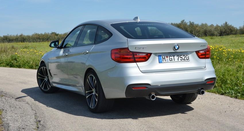 DRIVEN: BMW 3 Series Gran Turismo in Sicily Image #166614