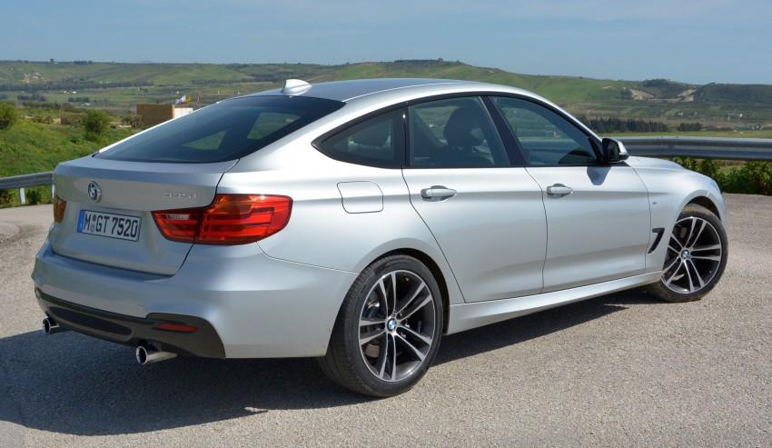 DRIVEN: BMW 3 Series Gran Turismo in Sicily Image #166615