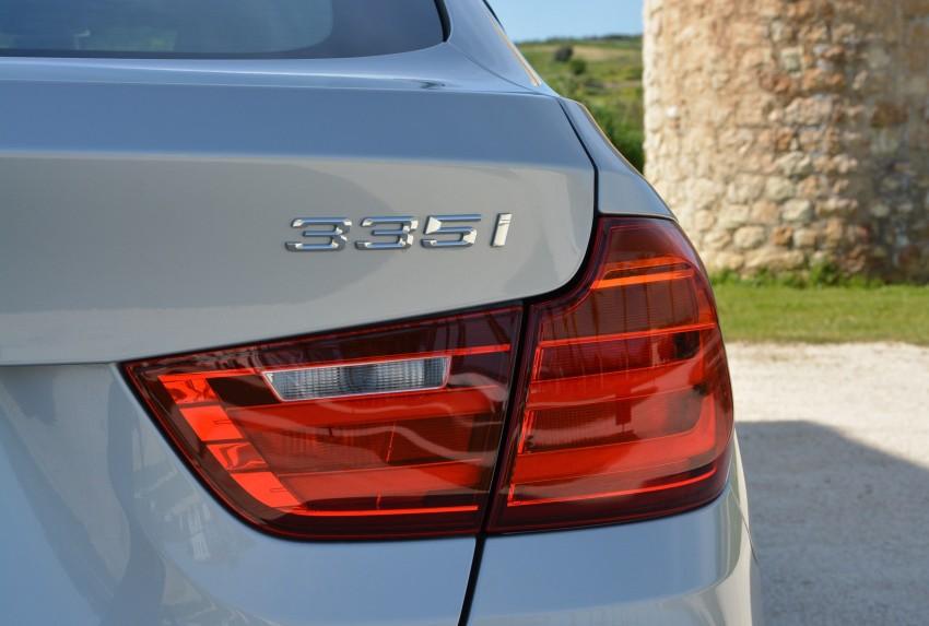 DRIVEN: BMW 3 Series Gran Turismo in Sicily Image #166637