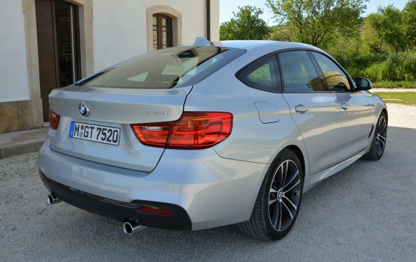 DRIVEN: BMW 3 Series Gran Turismo in Sicily Image #166639