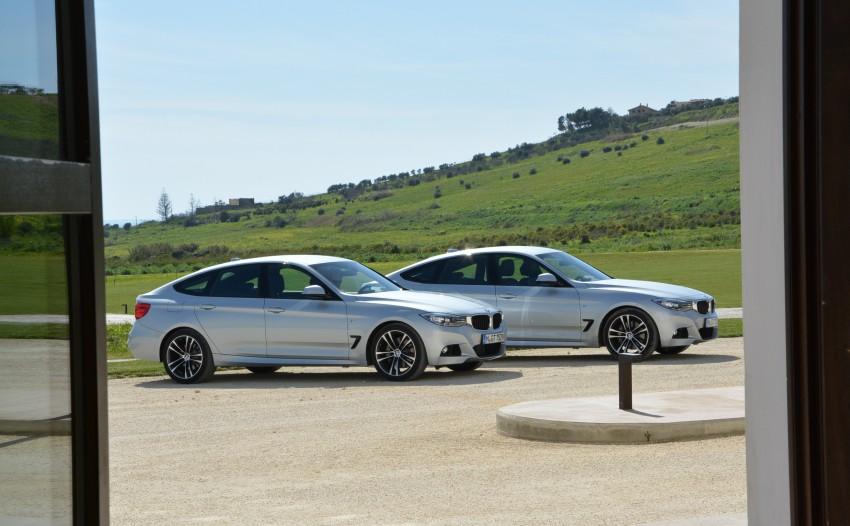 DRIVEN: BMW 3 Series Gran Turismo in Sicily Image #166544