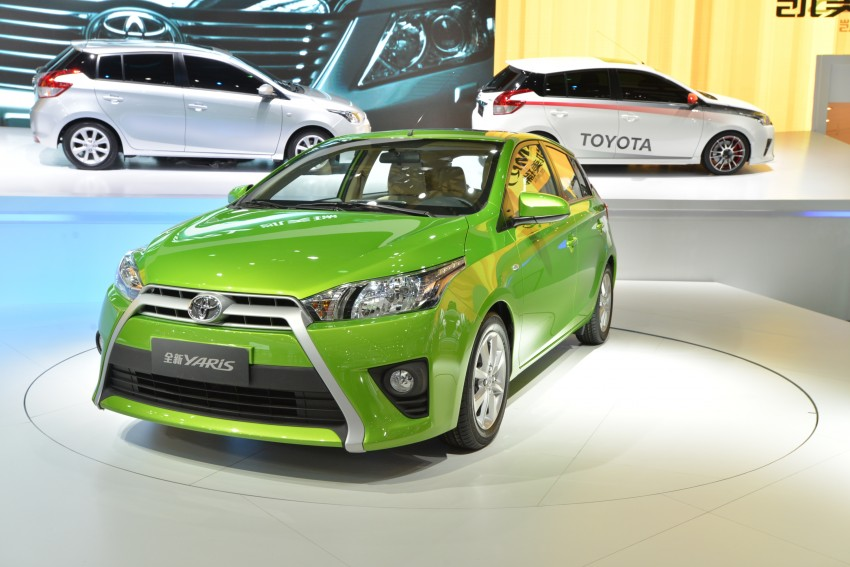 New China-market Toyota Yaris debuts in Shanghai Image #174898