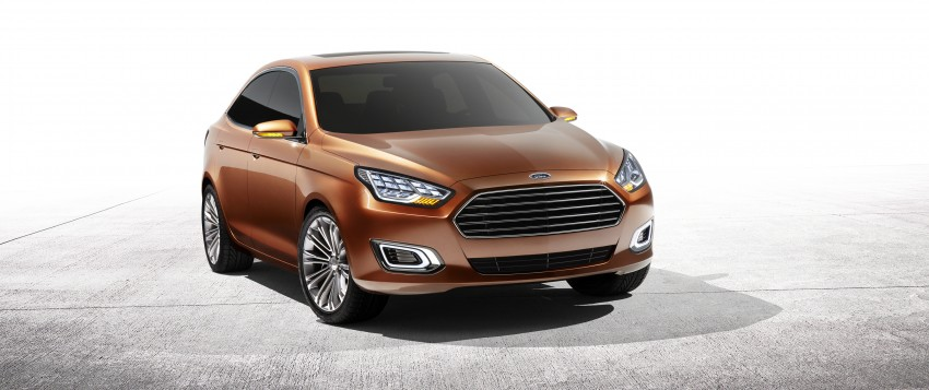 Ford Escort Concept – new compact sedan for China Image #169763