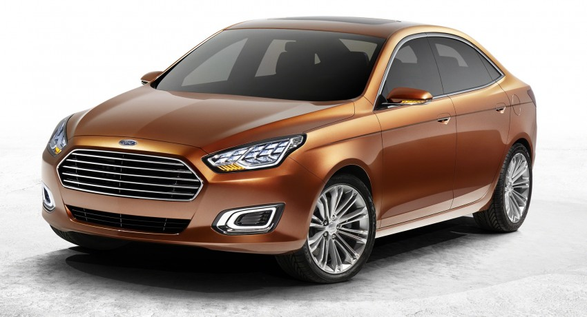 Ford Escort Concept – new compact sedan for China Image #169764