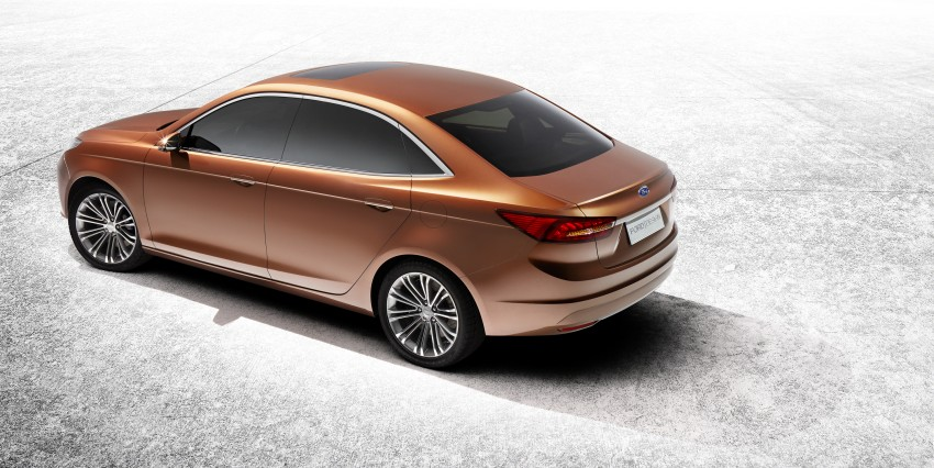 Ford Escort Concept – new compact sedan for China Image #169765