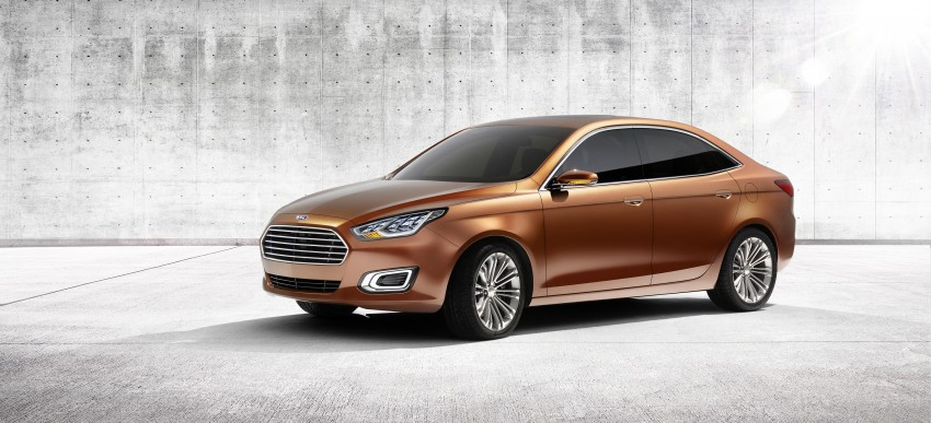 Ford Escort Concept – new compact sedan for China Image #169766