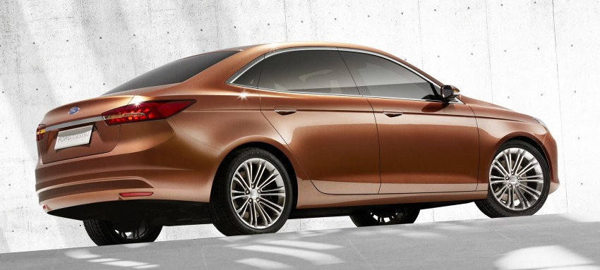 Ford Escort Concept – new compact sedan for China Image #169767